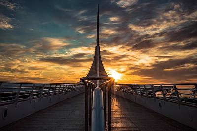 Photograph - Illuminating Calatrava by James  Meyer
