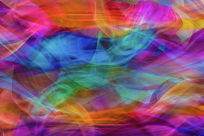 Illusion Of Detachment Art Print
