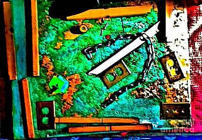 Mature Mixed Media - I'm Not The Same Person I Was At The Beginning Of This Sentence by Contemporary Luxury Fine Art