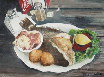 Painting - I'm Stuffed by Bobby Walters