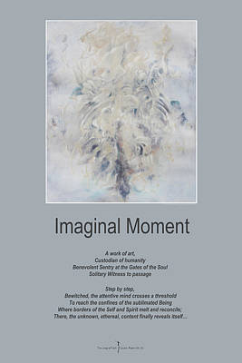 Mixed Media - Imaginal Moment by Nicole Lemelin