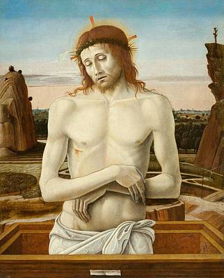 Imago Pietatis Art Print by Giovanni Bellini