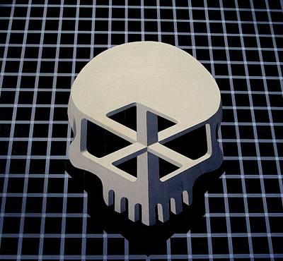 Impossible Skull Art Print