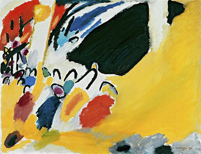Linear Painting - Impression IIi, Concert by Wassily Kandinsky