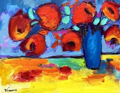 Impressionist Flowers Art Print by Venus