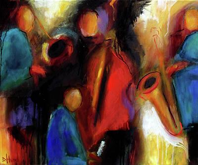 Painting - Improv by Debra Hurd