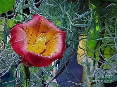 Digital Art - In Bloom by Kathie Chicoine