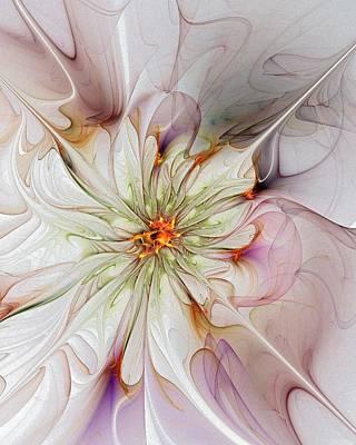 In Full Bloom Art Print by Amanda Moore