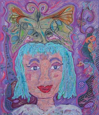 In Her Eyes Art Print