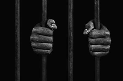 Art Print featuring the photograph In Prison by Chevy Fleet