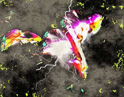 Digital Art - In The Beginning by Max DeBeeson