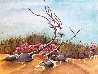 Painting - In The Desert by Pat Purdy