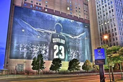 Lebron Photograph - In The Heart Of Town by Frozen in Time Fine Art Photography