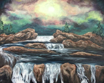 Painting - In The Land Of Dreams 3 by Cheryl Pettigrew