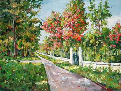 Painting - In The Park by Ingrid Dohm