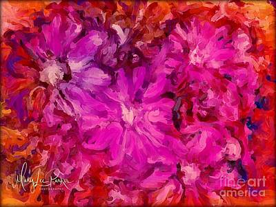 Digital Art - In The Pink by MaryLee Parker