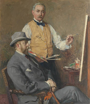 Painting - In The Studio by Gari Melchers