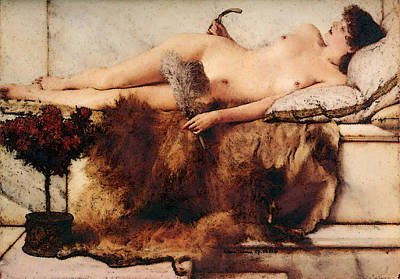 Digital Art - In The Tepidarium by Sir Lawrence Alma Tadema