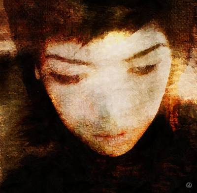 Digital Art - In Thoughts by Gun Legler