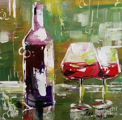 In Vino Veritas. Wine Collection Art Print
