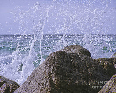 Waves Photograph - Incoming Tide by Terri Waters