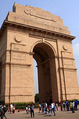 Photograph - India Gate New Delhi India by Aidan Moran