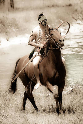 Photograph - Indian Warrior Iv by Athena Mckinzie