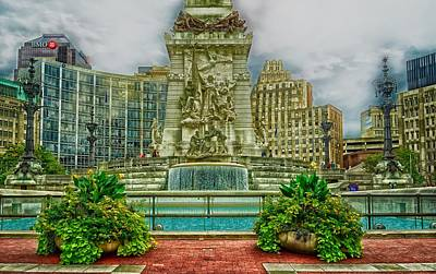 Indianapolis Soldiers And Sailors Monument Art Print