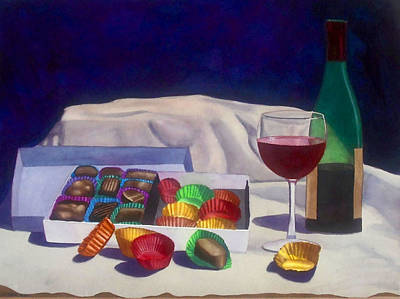 Painting - Indulgence by Cory Clifford