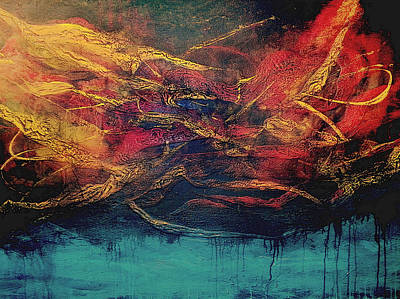 Painting - Inferno 3 by Michaelalonzo Kominsky
