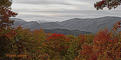 Infinite Smoky Mountains Art Print by DigiArt Diaries by Vicky B Fuller