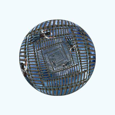 Digital Art - Infinity Ladders by John Haldane