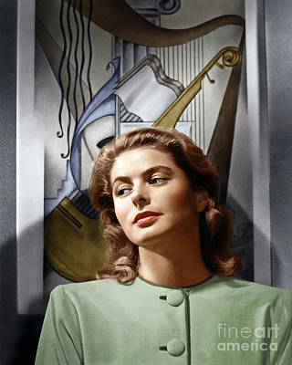 Photograph - Ingrid Bergman by Granger
