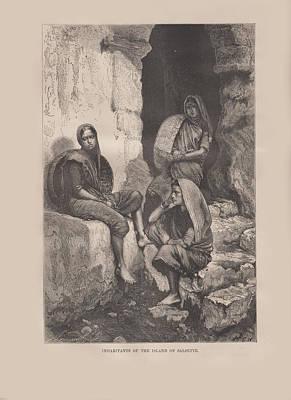 Inhabitants Of Salsette Original by Angela Lautin