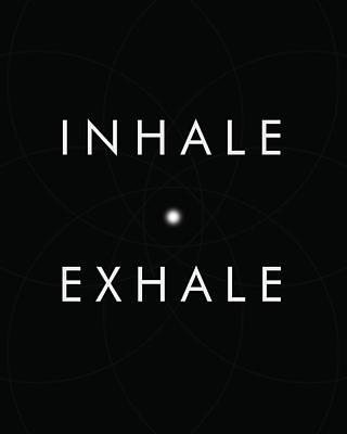 Minimalist Mixed Media - Inhale Exhale by Studio Grafiikka