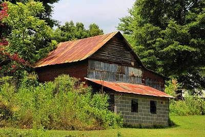 Photograph - Inman's Barn by Kathryn Meyer