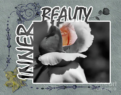 Inner Beauty Art Print by Smilin Eyes  Treasures