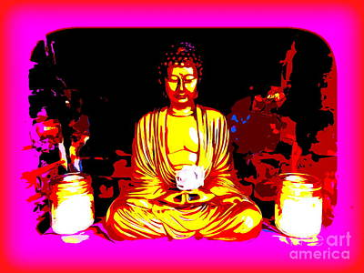 Digital Art - Inner Peace by Ed Weidman