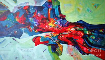 Painting - Inner Power by Sanjay Punekar