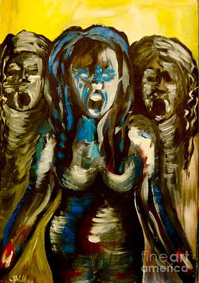 Insanity Painting - Insanity by Sabrina Phillips