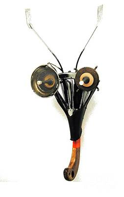Sculpture - Insect Mask by Bill Thomson