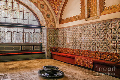 Photograph - Inside Harem Of Topkapi by Patricia Hofmeester