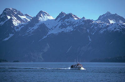 Photograph - Inside Passage In Alaska by Carl Purcell