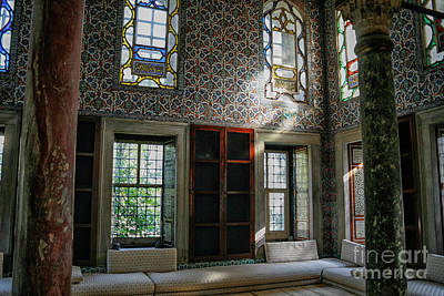 Photograph - Inside The Harem Of The Topkapi Palace by Patricia Hofmeester
