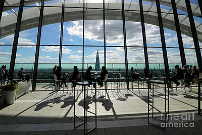 Photograph - Inside The Walkie Talkie Building London by Julia Gavin