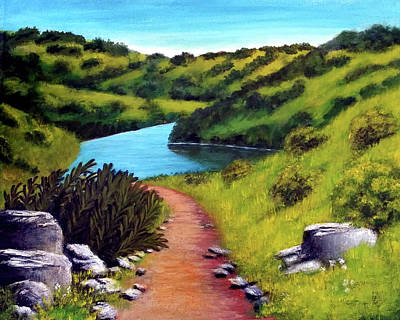 Painting - Inspiration Point by Barbara J Blaisdell