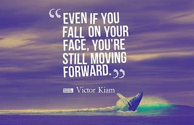 Inspirational Timeless Quotes - Victor Kiam Art Print