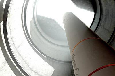 Aggression Digital Art - Intercontinental Ballistic Missile Silo by Allan Swart