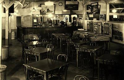 Photograph - Interior Of P X - Oak Ridge Tennessee 1943 by Ed Westcott