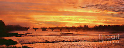 Photograph - Interurban Sunrise 5920 by Jack Schultz